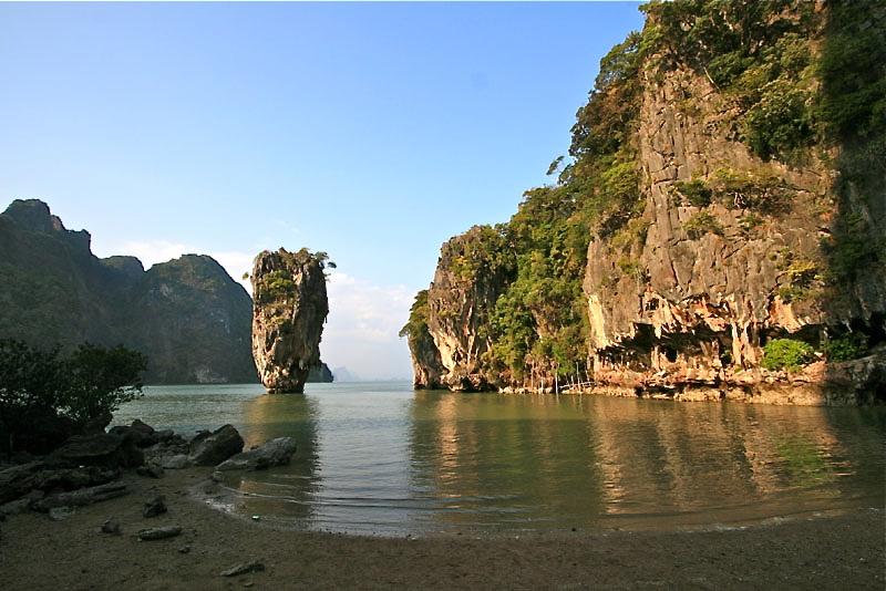 Fallschirmspringen und Tandemspringen - James-Bond-Felsen Insel Khao ... Jamesbond